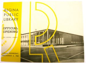 RPL Central opening 1962 - program cover